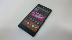Sony Xperia Z3 Compact - vue 01