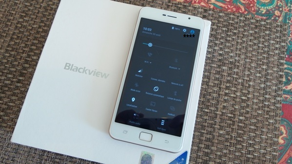 blackview alife p1 pro - vue 14