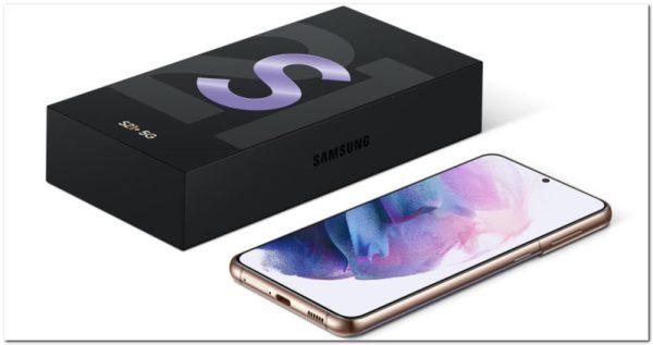 Samsung : absence de bloc chargeur pour les smartphones