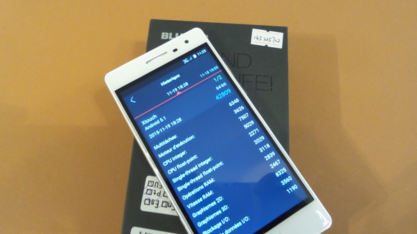 bluboo xtouch - vue 14