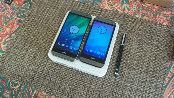 htc one m8 vs htc one mini 2 - vue 22