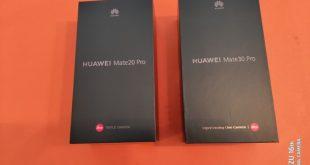 Comparatif Huawei Mate 20 Pro vs Mate 30 Pro : deux générations s'affrontent