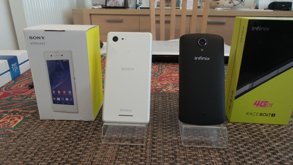 infinix race bolt 2 vs sony xperia e3 - vue 06