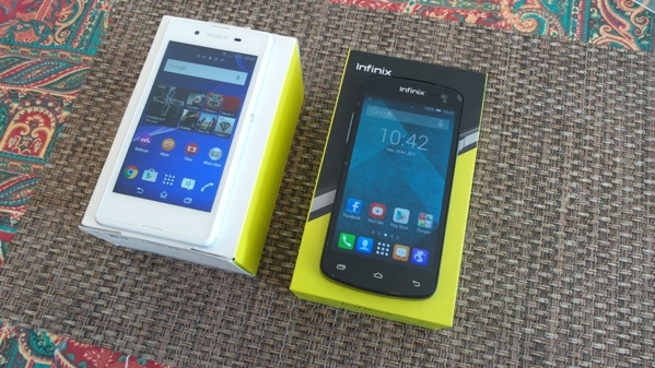 infinix race bolt 2 vs sony xperia e3 - vue 09