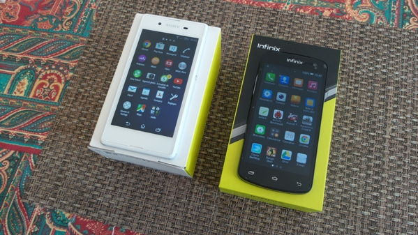 infinix race bolt 2 vs sony xperia e3 - vue 11