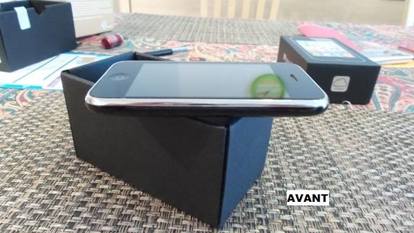 iphone 3gs defect  - vue 05