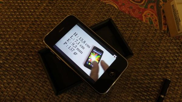 iphone 3gs - vue 14