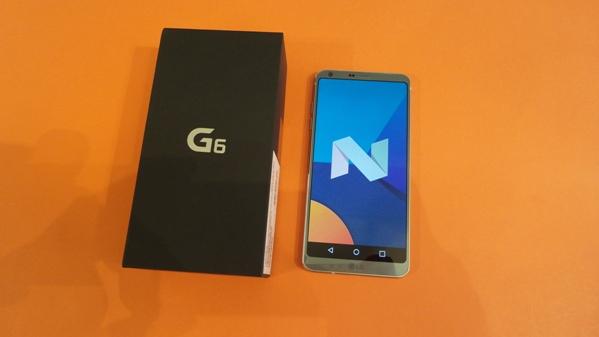 lg g6 - vue 14