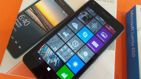 lumia 640 vs lumia 650 - vue 14