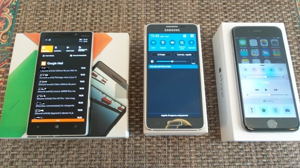 lumia 930 vs samsung galaxy alpha vs iphone 6 - vue 20