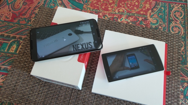 nexus 6 vs oneplus one - vue 19