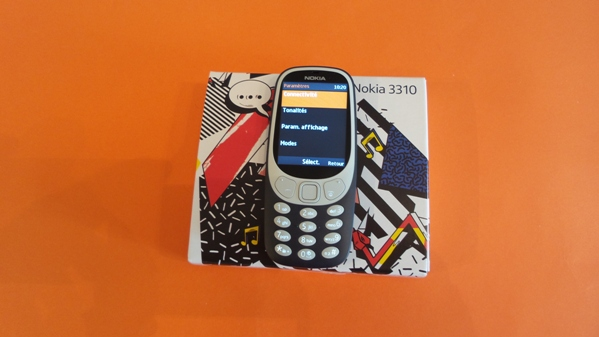 nokia 3310 2017 - vue 13