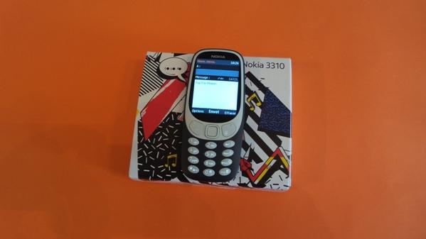 nokia 3310 2017 - vue 17