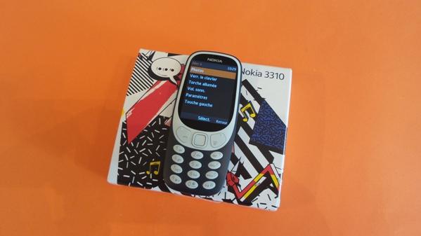 nokia 3310 2017 - vue 19
