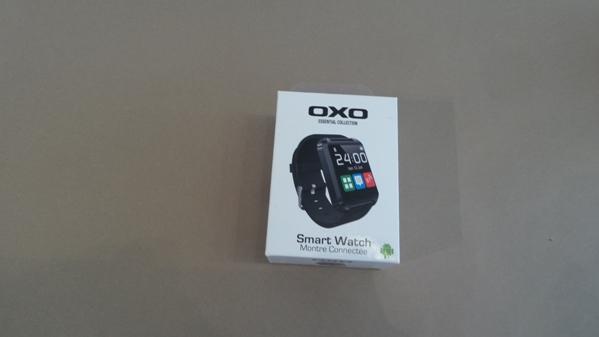 oxo smartwatch - vue 02