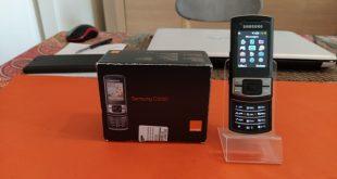 Rétro-test du Samsung C3050 : ça coulissait en 2009