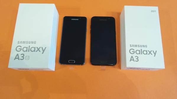 comparatif samsung galaxy a3 2016 vs galaxy a3 2017 le choc des g n rations top for phone