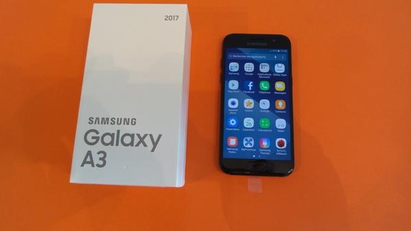 samsung galaxy a3 2017 - vue 15