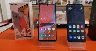 Test comparatif Samsung Galaxy A42 5G vs Xiaomi Mi 10 Lite : lequel choisir?
