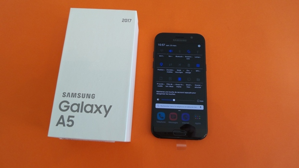 samsung galaxy a5 2017 - vue 15