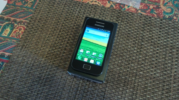 samsung galaxy ace - vue 10