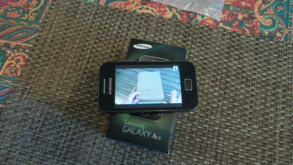 samsung galaxy ace - vue 14