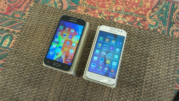 samsung galaxy core prime vs galaxy core prime ve - vue 10