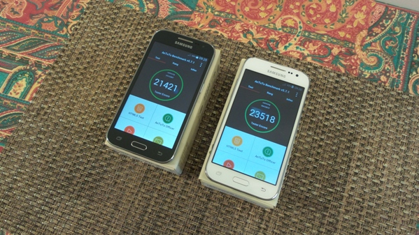 samsung galaxy core prime vs galaxy core prime ve - vue 12