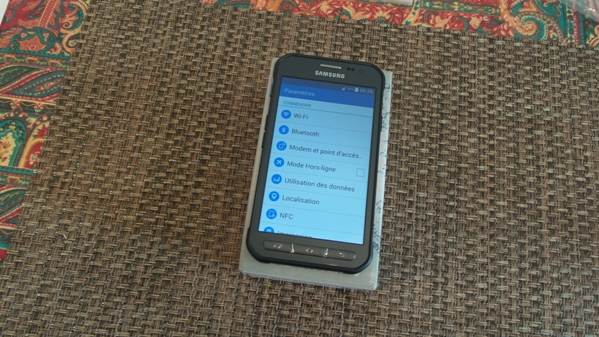 samsung galaxy xcover 3 - vue 13